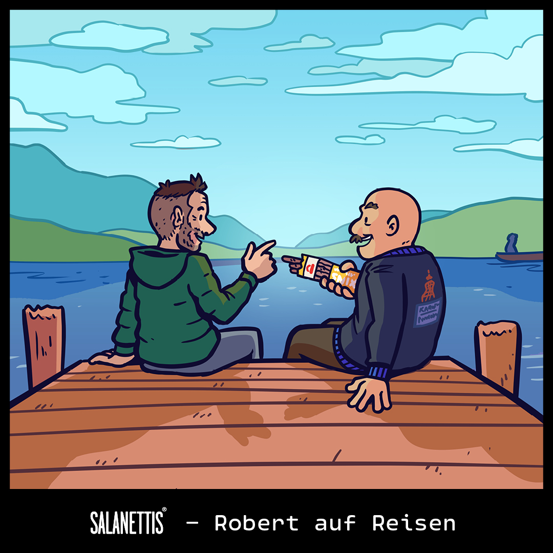 Robert auf Reisen – Kapitel 9