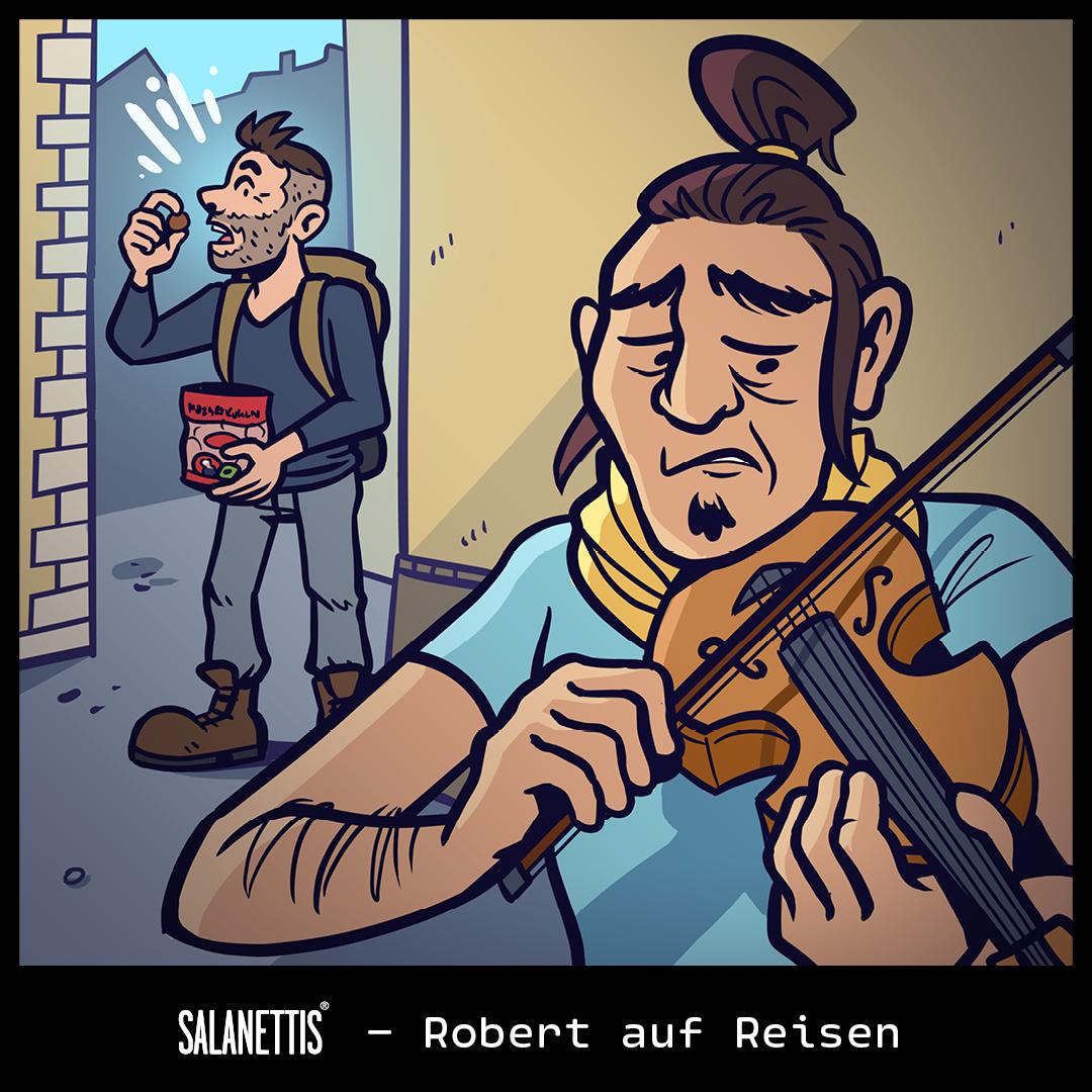 Robert auf Reisen – Kapitel 17