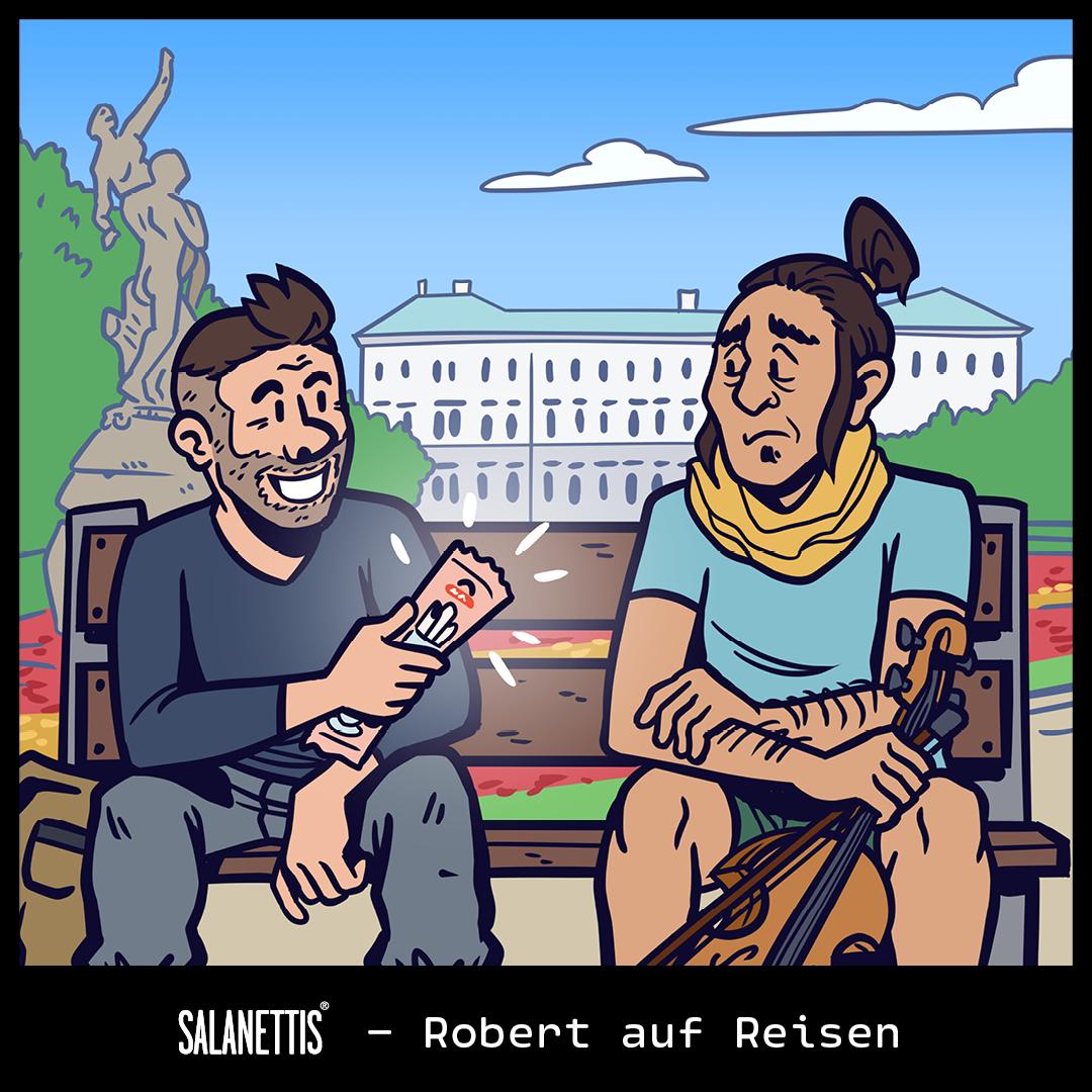 Robert auf Reisen – Kapitel 18