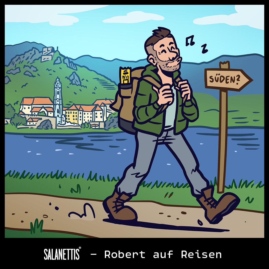 Robert auf Reisen – Kapitel 4