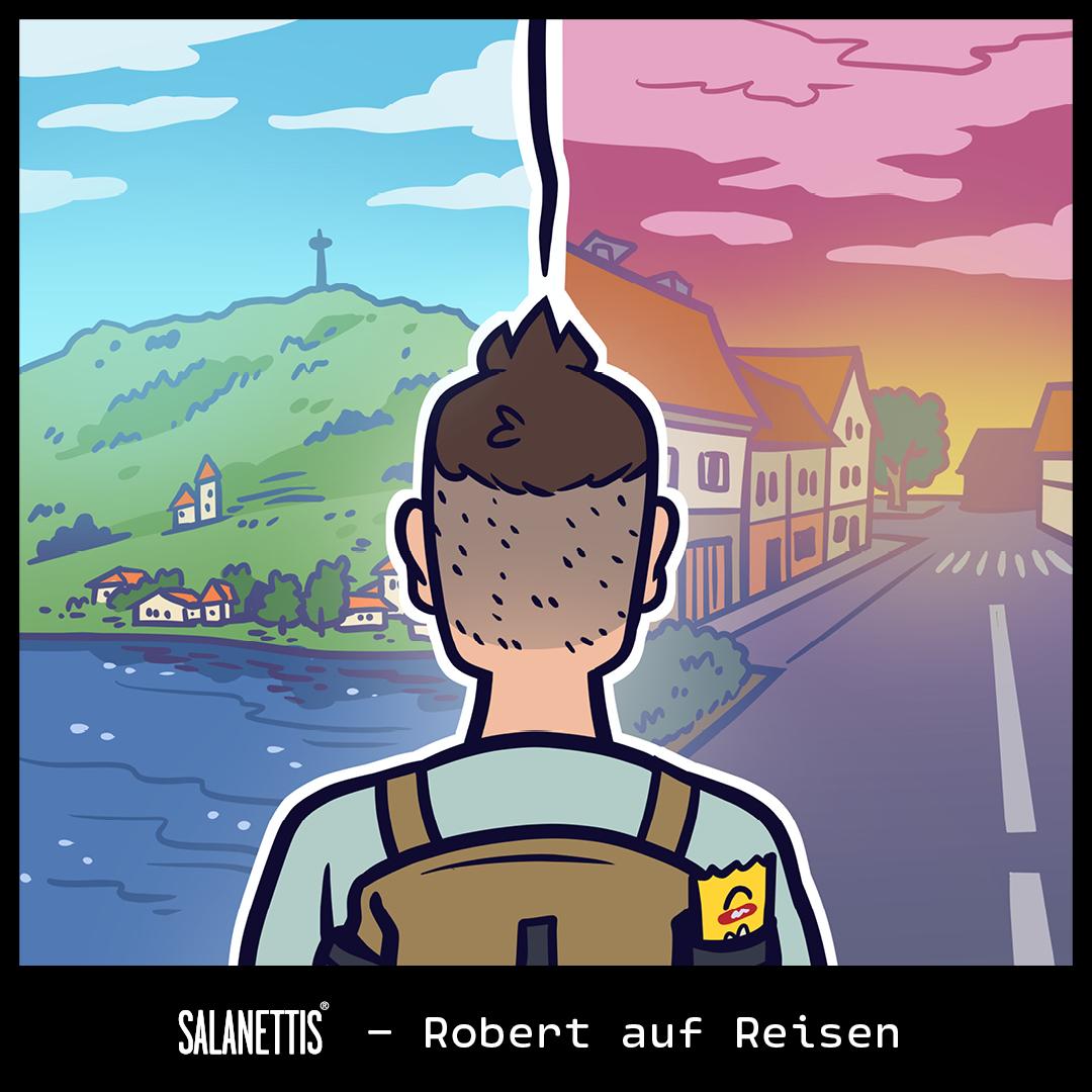 Robert auf Reisen – Kapitel 3