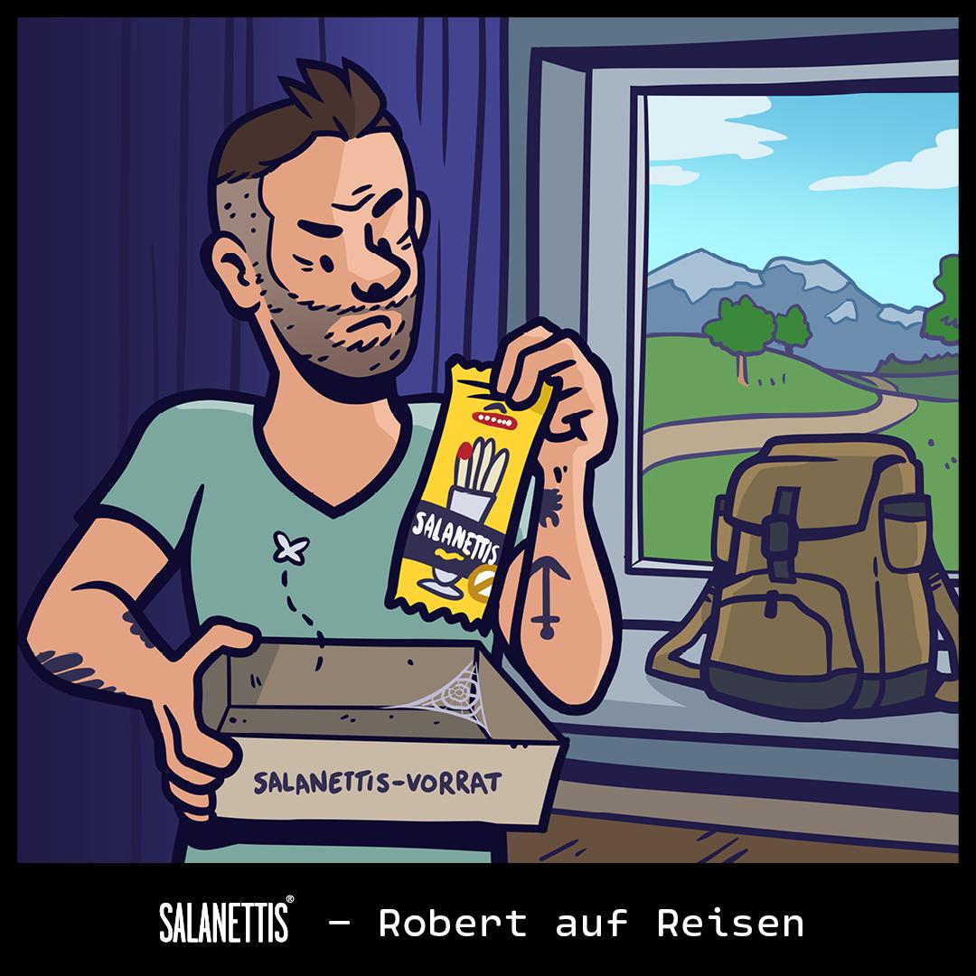 Robert auf Reisen – Kapitel 1